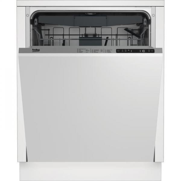 beko lvi66f lave vaisselle encastrable 15 couverts 44 db silencieux a larg 60 cm moteur. Black Bedroom Furniture Sets. Home Design Ideas