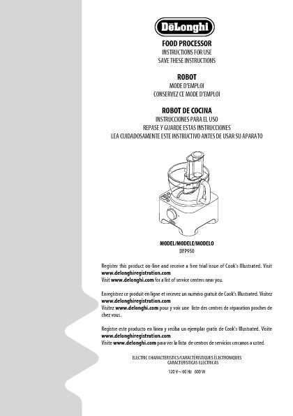 http://www.delonghi.com/Global/InstructionManuals/EN/19772.pdf
