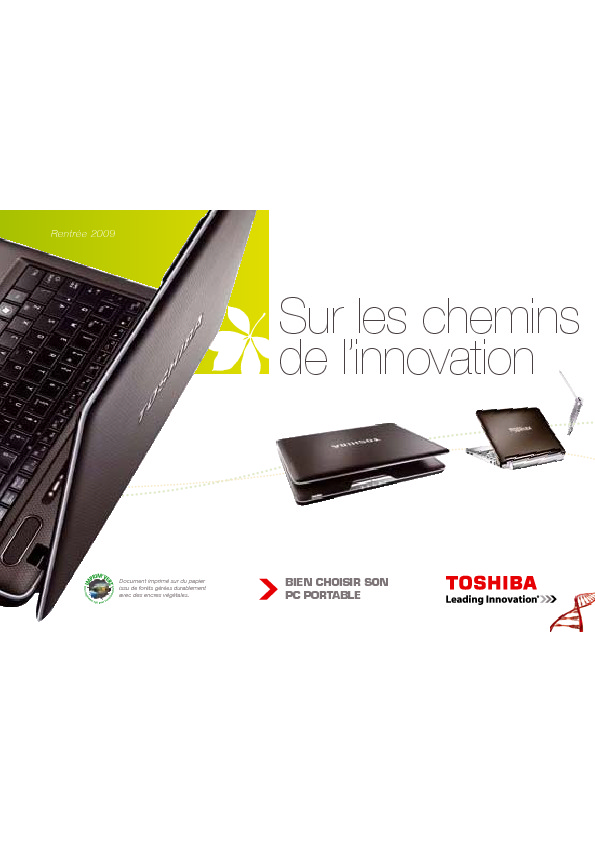 http://www.toshiba.fr/Contents/Toshiba_fr/FR/Others/pdf/2009-guide-rentree.pdf