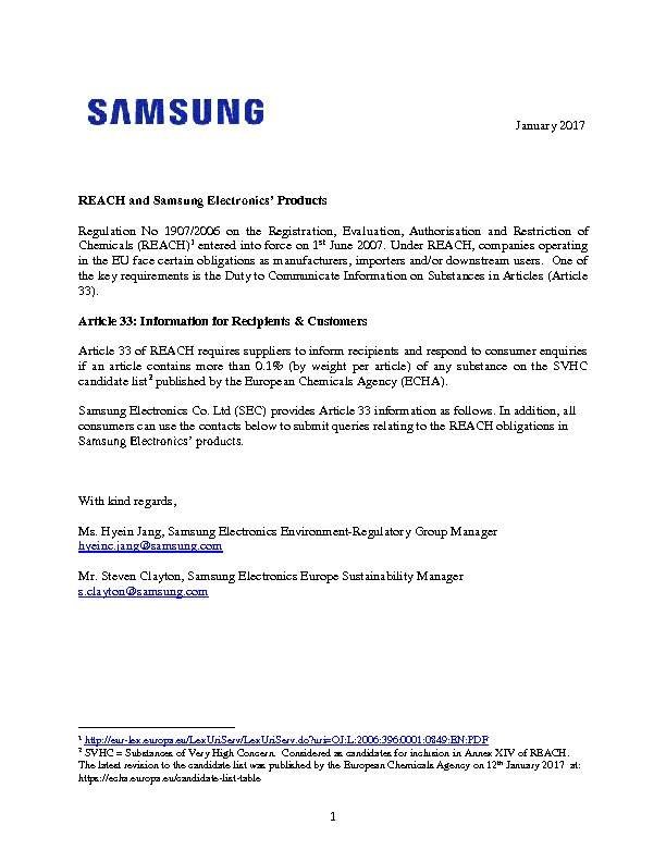http://www.samsung.com/common/aboutsamsung/download/companyreports/2_REACH_SVHC_Declaration.pdf