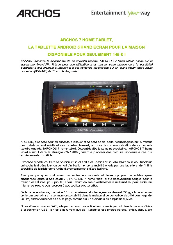 http://www.archos.com/corporate/press/press_releases/ARCHOS_7_Home_Tablet_FR.pdf