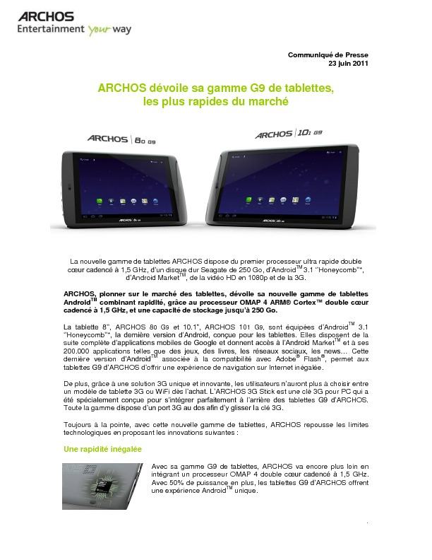 http://www.archos.com/corporate/press/press_releases/ARCHOS_G9_FR_FR.pdf