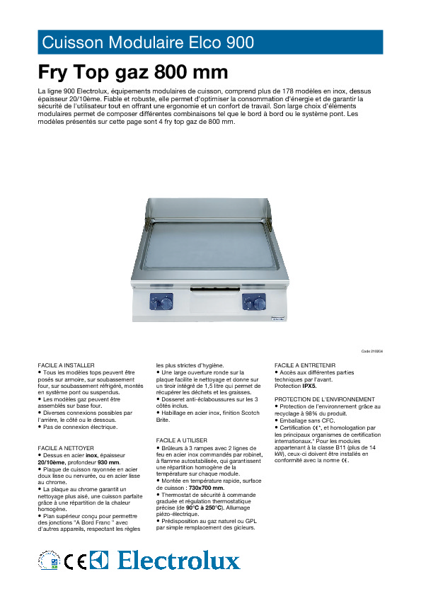 http://tools.professional.electrolux.com/Mirror/Doc/MAD/ELECTROLUX/French/CAEA020.pdf
