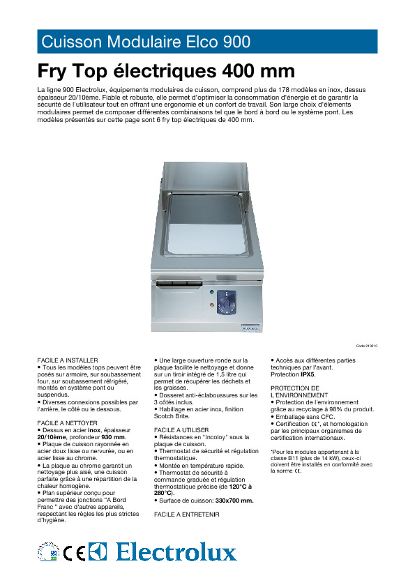 http://tools.professional.electrolux.com/Mirror/Doc/MAD/ELECTROLUX/French/CAEB010.pdf