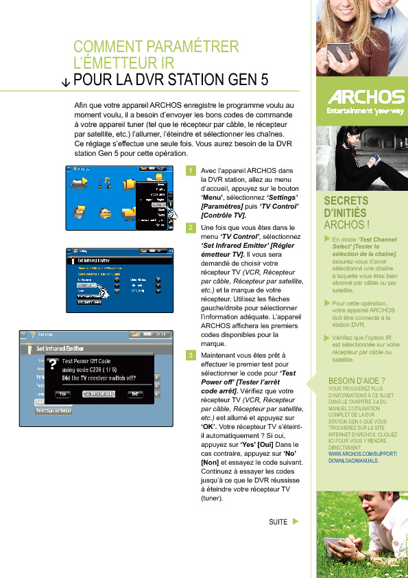 http://www.archos.com/support/download/guides/Comment_parametrer_l_emetteur_IR.pdf