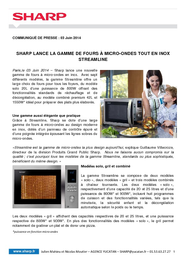 http://www.sharp.fr/sharp/assets/internet/assets/images/Communique_de_Presse_Sharp_Micro-Ondes_Streamline_03Juin2014.pdf