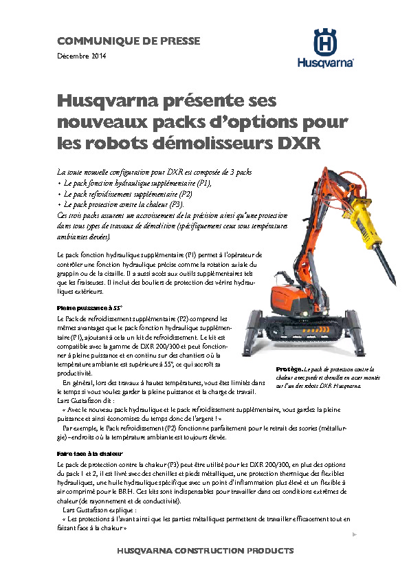 http://www.husqvarna.com/files/DXR_packages_FR.pdf