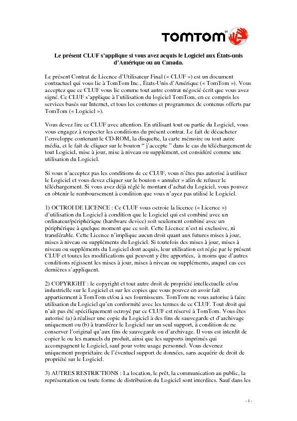 http://www.tomtom.com/lib/doc/legal/eula/EULA_Software_Only__US__-_French.pdf