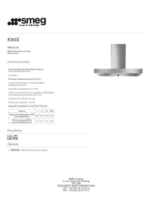 http://www.smeg.fr/Catalogue/Product/Pdf/K90X.pdf