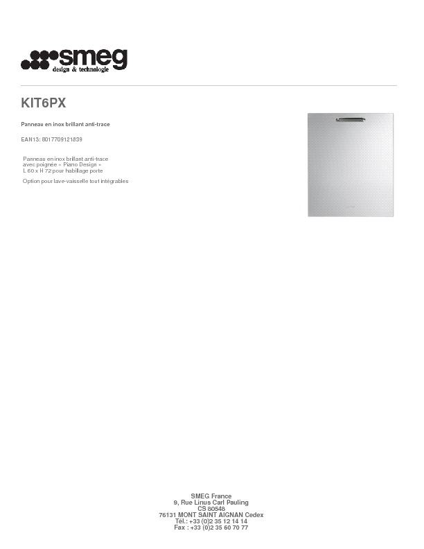 http://www.smeg.fr/Catalogue/Product/Pdf/KIT6PX.pdf