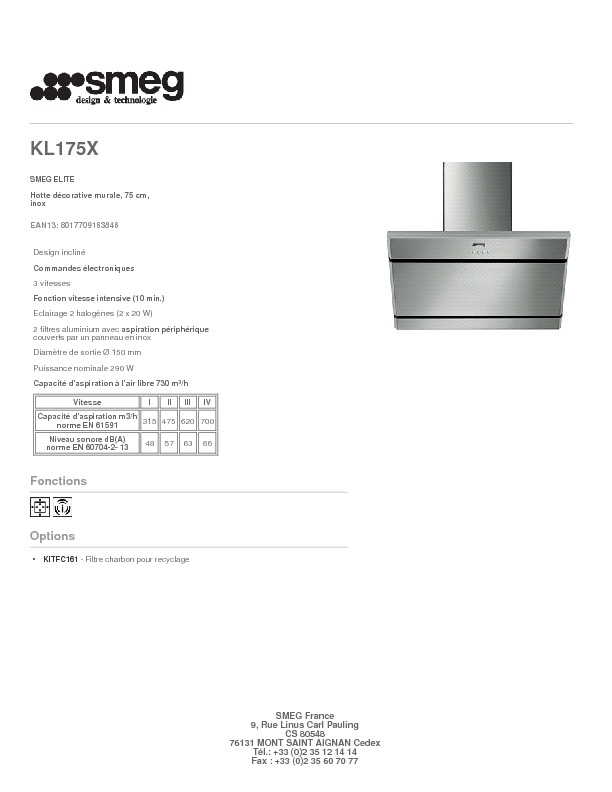 http://www.smeg.fr/Catalogue/Product/Pdf/KL175X.pdf