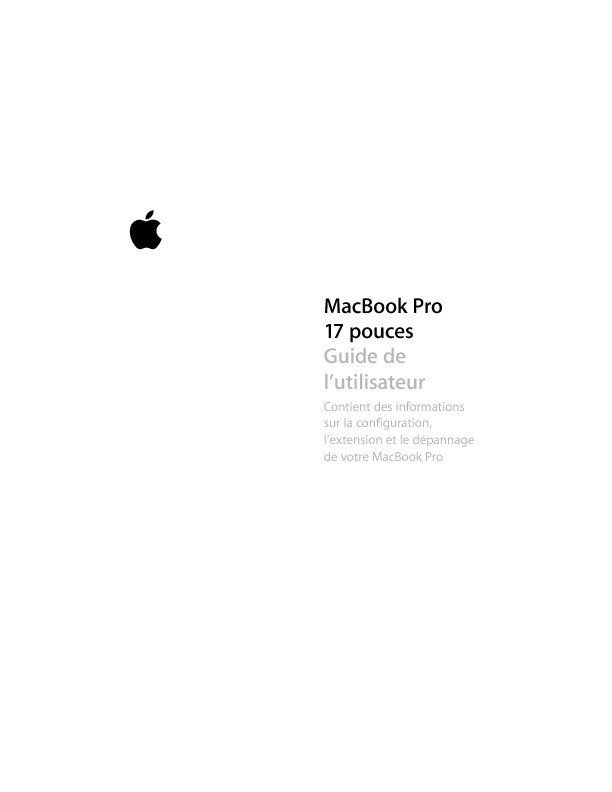 http://manuals.info.apple.com/fr_FR/MacBookPro_17inch_UserGuide.pdf