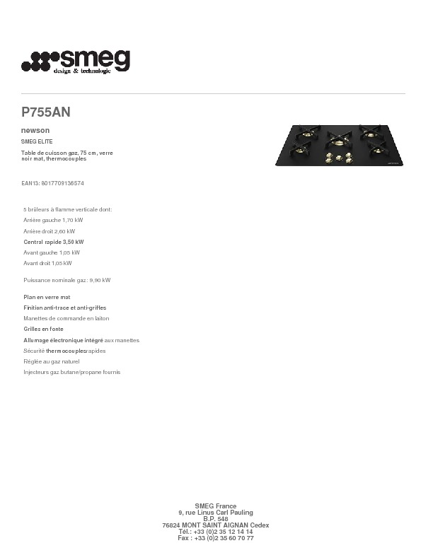 http://www.smeg.fr/Catalogue/Product/Pdf/P755AN.pdf