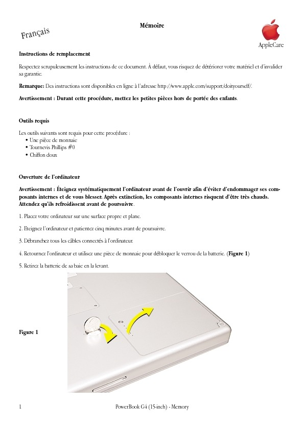 http://manuals.info.apple.com/fr_FR/pbg4_15fw800_mem.pdf