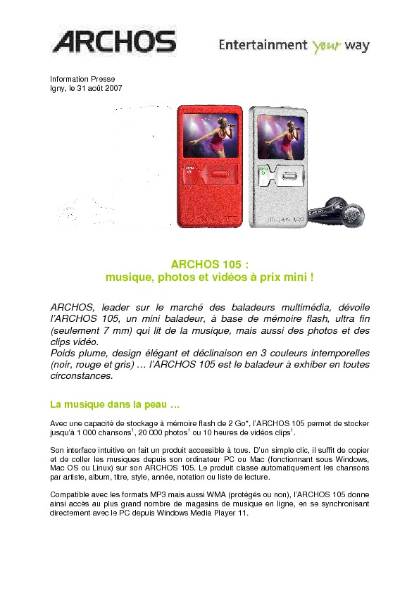 http://www.archos.com/corporate/press/press_releases/PR_ARCHOS_105_FR_20070831.pdf