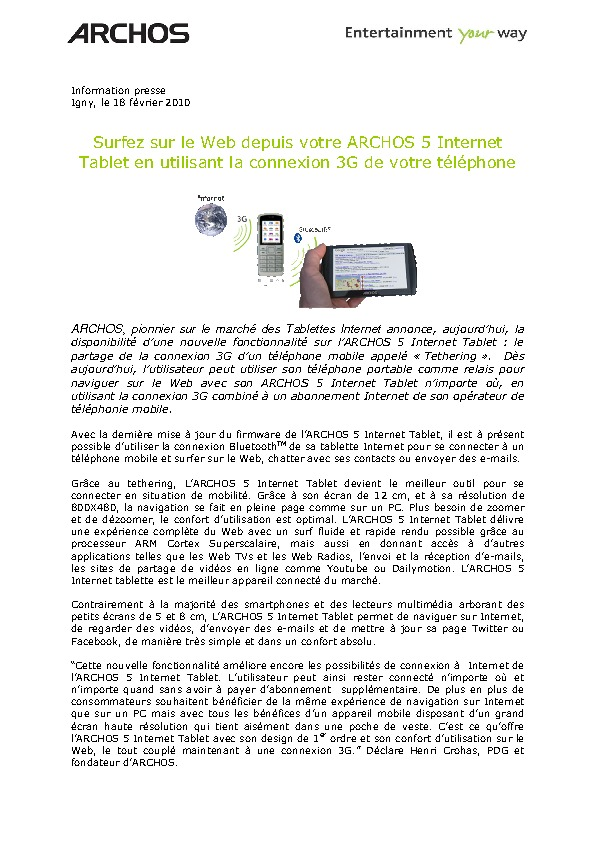 http://www.archos.com/corporate/press/press_releases/PR_ARCHOS_5_IT_Tethering_FR.pdf