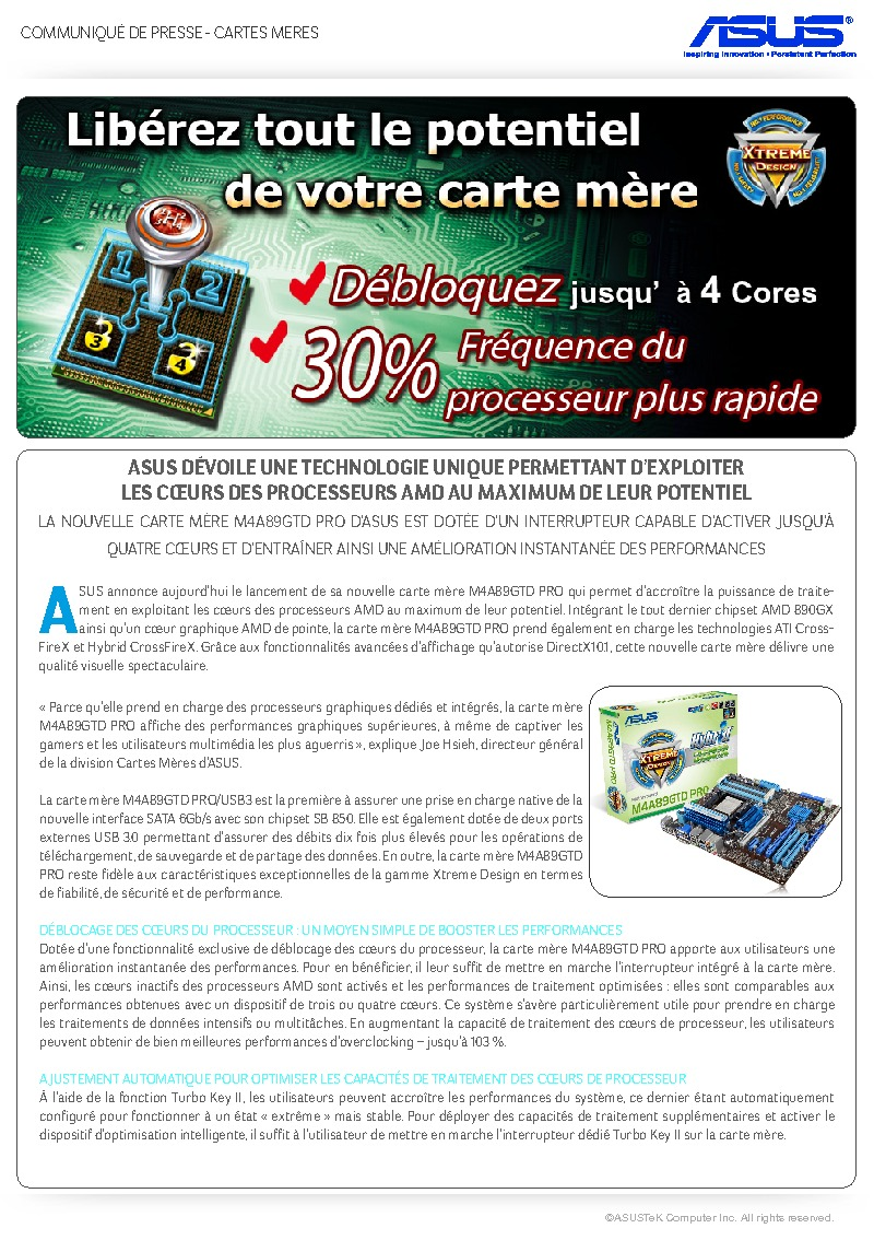 http://www.asus.fr/newsletter/Press_Release/AMD_CPU_Cores/Press_Release_AMD_CPU_Cores.pdf