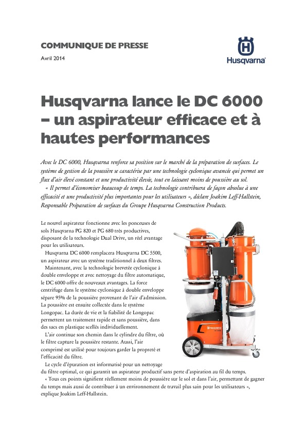 http%3A%2F%2Fwww.husqvarna.com%2Ffiles%2FPress_release_DC-6000_French.pdf