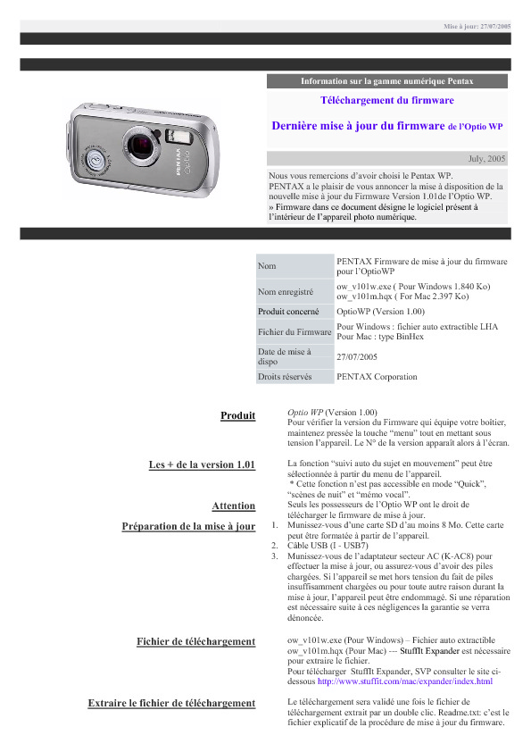 http://www.pentax.fr/media/227c3a69c07bd709a1f15bb1f0d8cd41/procedure.pdf