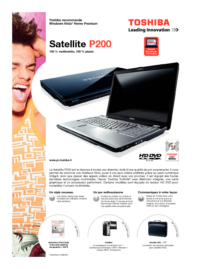 http://www.toshiba.fr/Contents/Toshiba_fr/FR/Others/pdf/satellite_p200.pdf