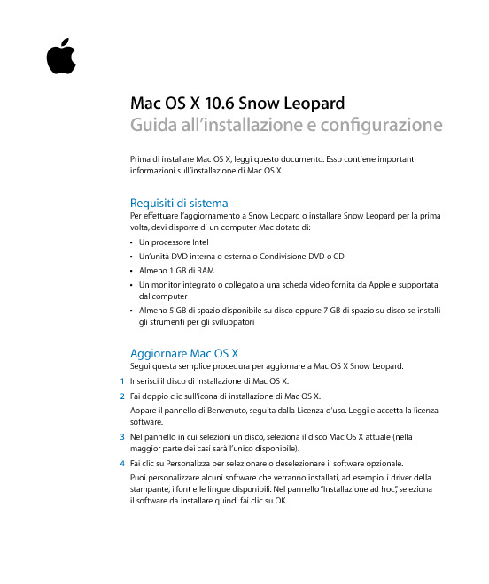 http://manuals.info.apple.com/it_IT/Snow_Leopard_Istruzioni_per_l_installazione.pdf