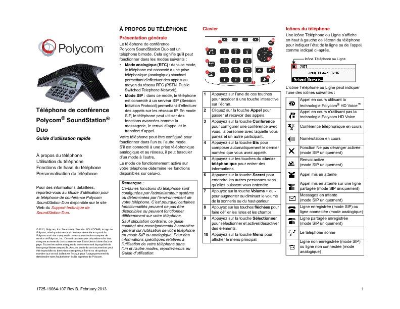 http://www.polycom.fr/content/dam/polycom-support/products/Voice/soundstation/user/fr/ssduo_Quick_User_Guide_UCS_4_0_0_fr.pdf
