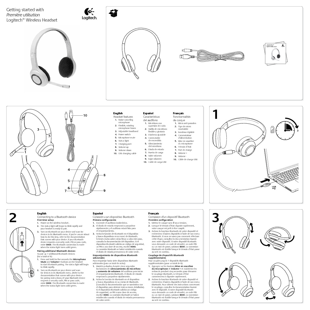 http://www.logitech.com/assets/42331/wireless-headset-for-ipad-quick-start-guide.pdf