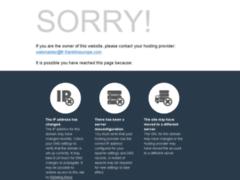 Aperçu du site http://fr.franklineurope.com/