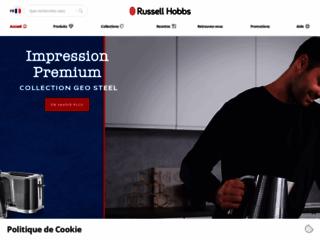Aperçu du site http://fr.russellhobbs.com/