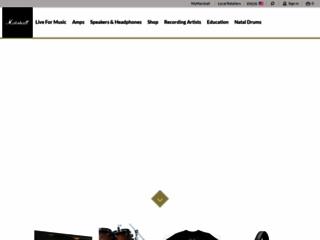 Aperçu du site http://marshallamps.com/