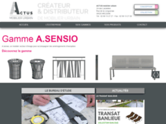 Aperçu du site http://www.actus-mobilier-urbain.fr/