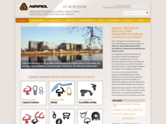 Aperçu du site http://www.agripsol.fr/