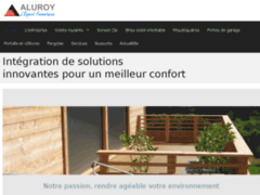 Aperçu du site http://www.aluroy.com/