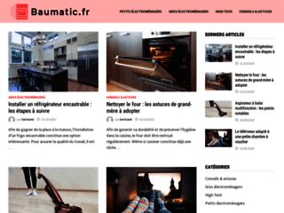 Aperçu du site http://www.baumatic.fr/
