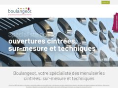 Aperçu du site http://www.boulangeot.fr/