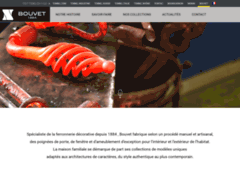 Aperçu du site http://www.bouvet.fr/