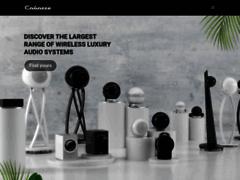 Aperçu du site http://www.cabasse.com/