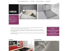 Aperçu du site http://www.carea-sanitaire.fr/