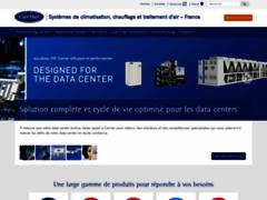 Aperçu du site http://www.carrier.fr/