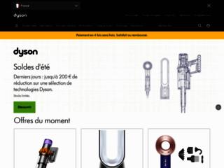 Aperçu du site http://www.dyson.fr/