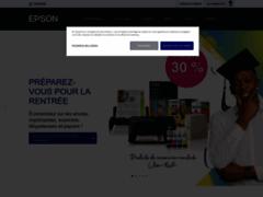Aperçu du site http://www.epson.fr/
