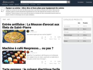 Aperçu du site http://www.fagor.fr/
