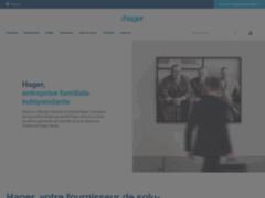 Aperçu du site http://www.hager.fr/