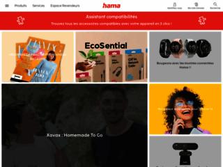 Aperçu du site http://www.hama.fr/