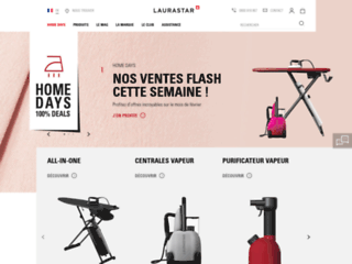 Aperçu du site http://www.laurastar.fr/