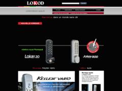 Aperçu du site http://www.lokod.fr/