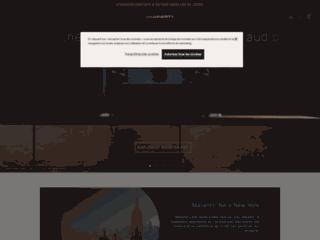 Aperçu du site http://www.marantz.fr/