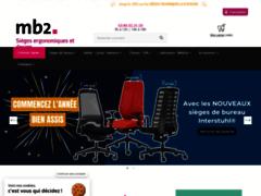 Aperçu du site http://www.mb2.fr/