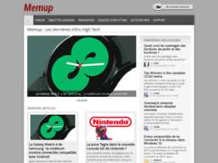 Aperçu du site http://www.memup.fr/