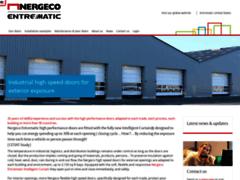 Aperçu du site http://www.nergeco.com/